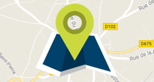 Carte interactive de Beuzeville