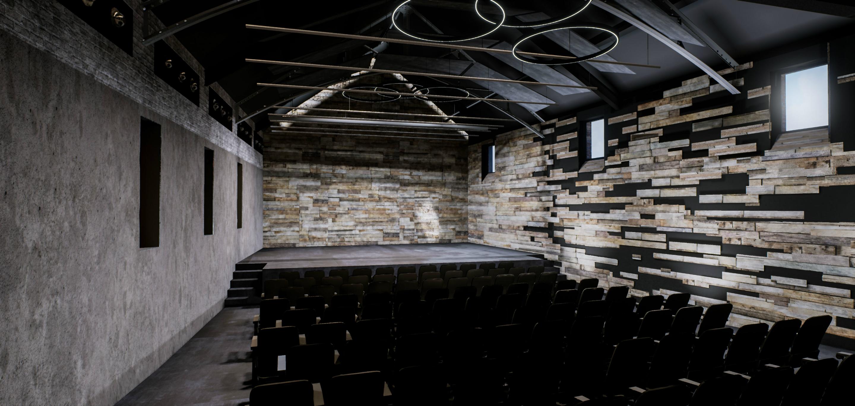 Le Ple Culturel Situ En Face De La Mdiathque Sera Compos Dune Salle Spectacle 140 Places Halle Couverte Sur Deux Niveaux Espaces